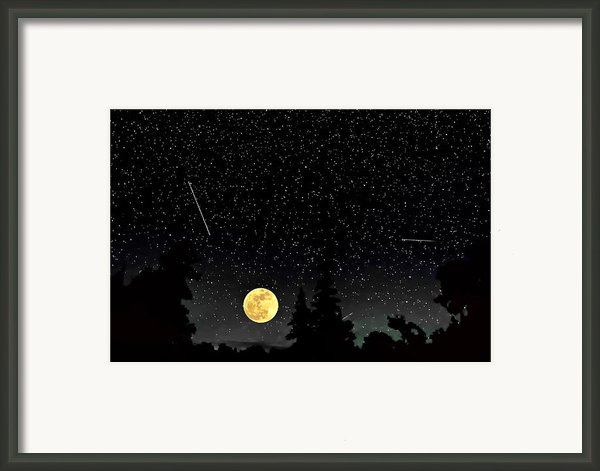Night Moves Framed Print By Steve Harrington