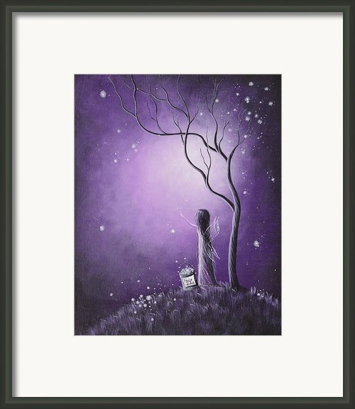 Night Of The Fairies By Shawna Erback Framed Print By Shawna Erback