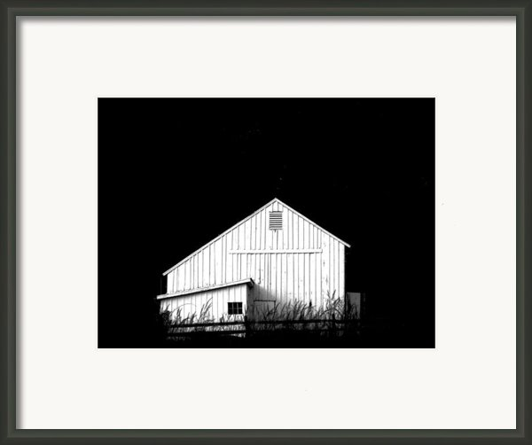 Nightfall Framed Print By Angela Davies