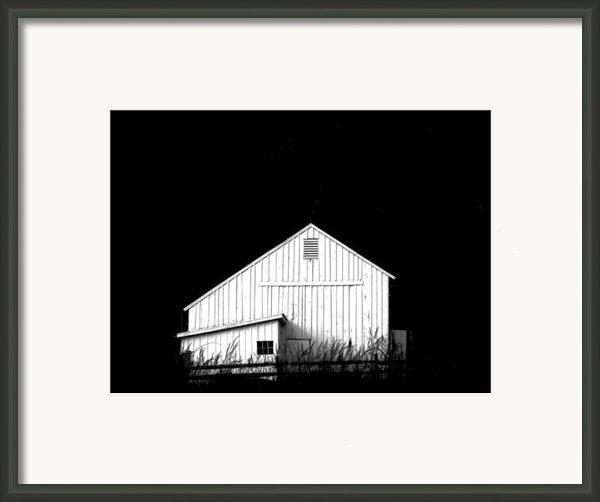 Nightfall Framed Print By Angela Davies