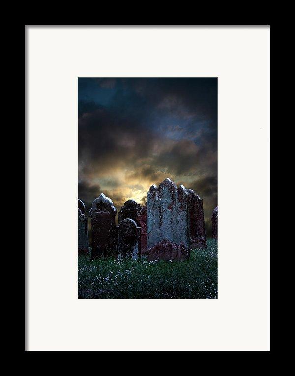 Nightmare Hill Framed Print By Svetlana Sewell