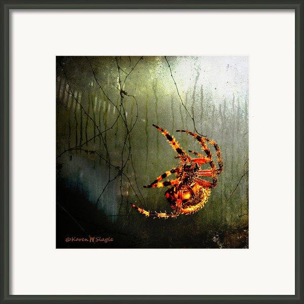 Nightmares Framed Print By Karen Slagle