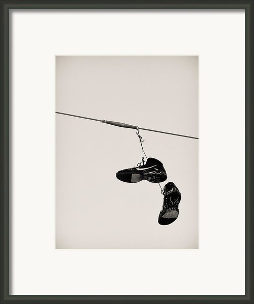 Nikes Framed Print By Tracy Salava