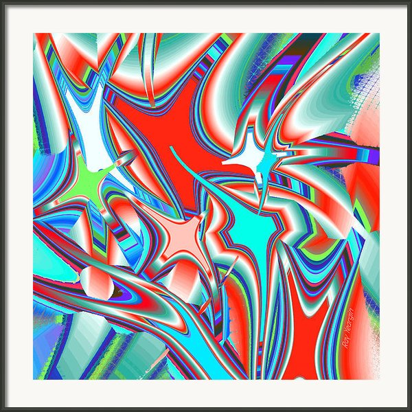 Nine Stars Framed Print By Ray Yeargin