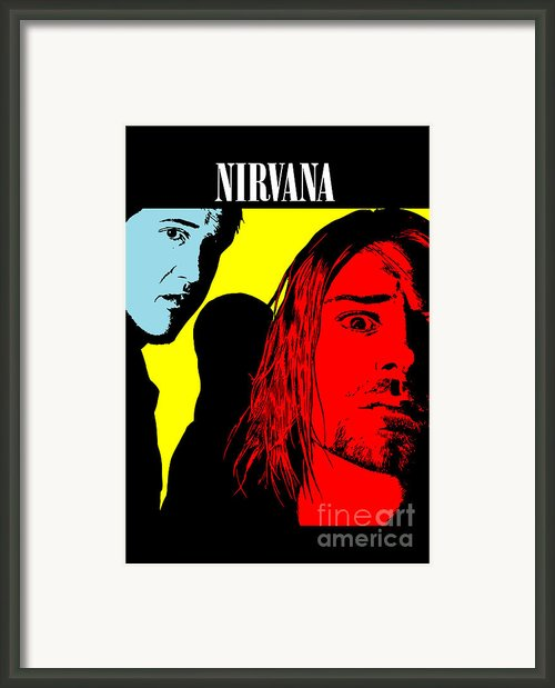 Nirvana No.01 Framed Print By Caio Caldas