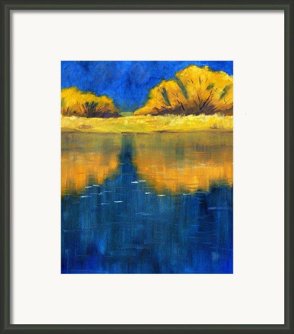 Nisqually Reflection Framed Print By Nancy Merkle