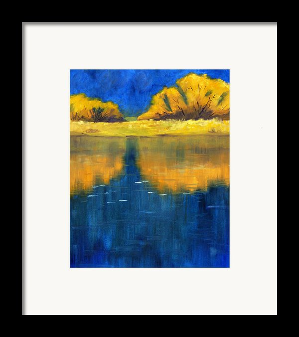 Nisqually Reflection Framed Print By Nancy Merkle