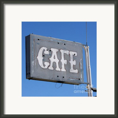 No Food Here Framed Print By Art Block Collections