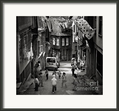 No Nintendo For Them Framed Print By Michel Verhoef