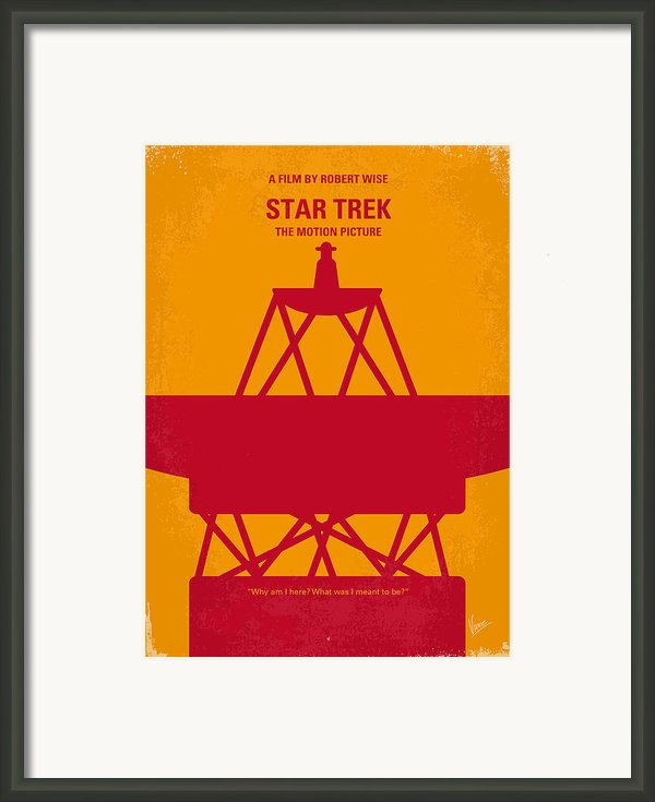 No081 My Star Trek 1 Minimal Movie Poster Framed Print By Chungkong Art