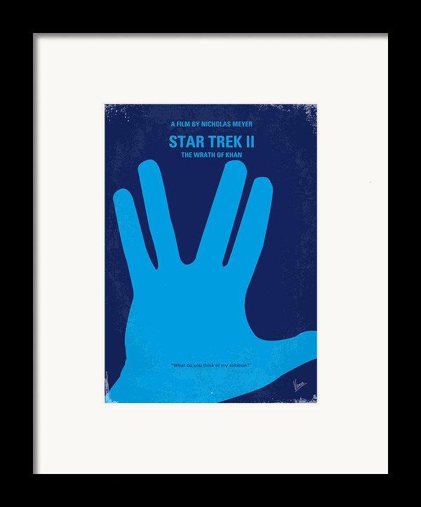 No082 My Star Trek 2 Minimal Movie Poster Framed Print By Chungkong Art