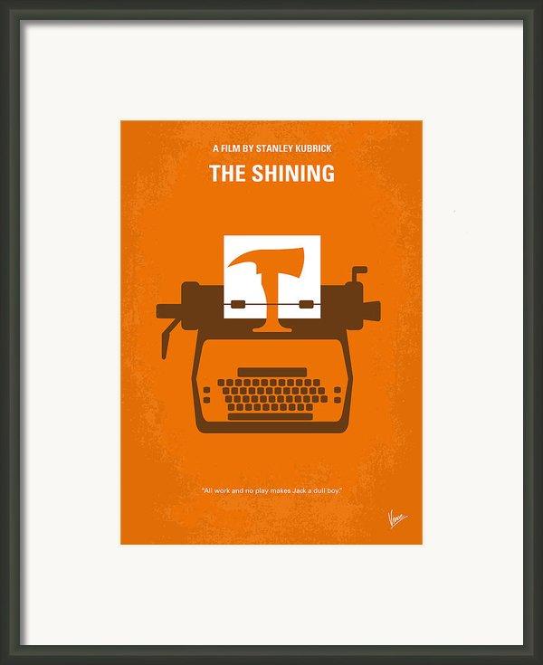 No094 My The Shining Minimal Movie Poster Framed Print By Chungkong Art