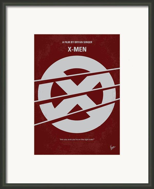 No123 My Xmen Minimal Movie Poster Framed Print By Chungkong Art