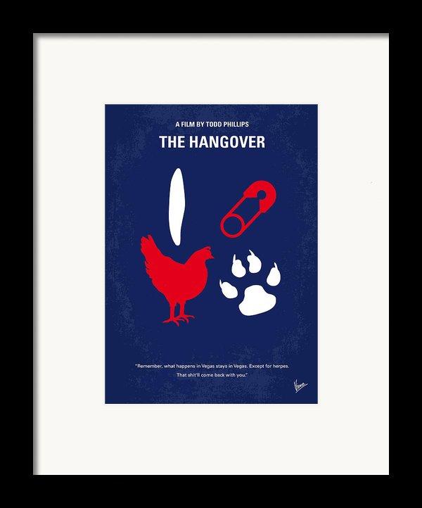 No145 My The Hangover Minimal Movie Poster Framed Print By Chungkong Art