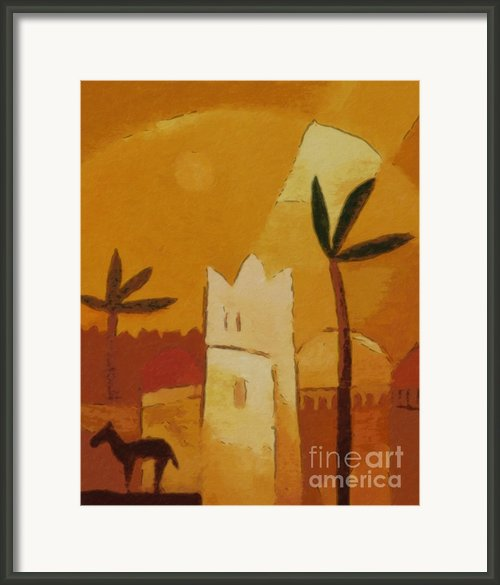 North Africa Framed Print By Lutz Baar