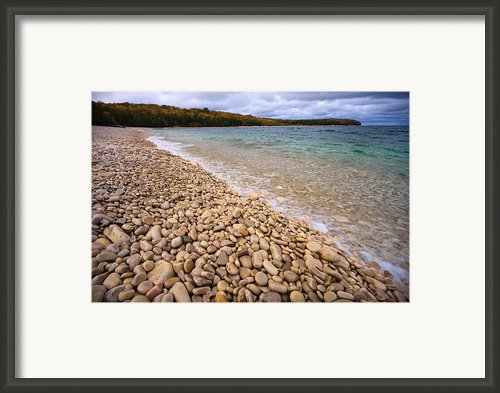 Northern Shores Framed Print By Adam Romanowicz