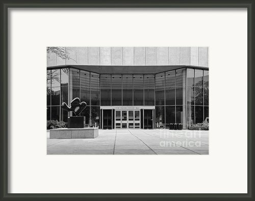 Northwestern University Pick-staiger Concert Hall Framed Print By University Icons