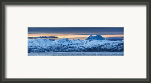 Norwegian Coast Framed Print By Wade Aiken
