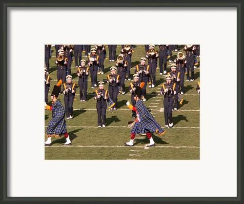 Notre Dame Band Framed Print By David Bearden