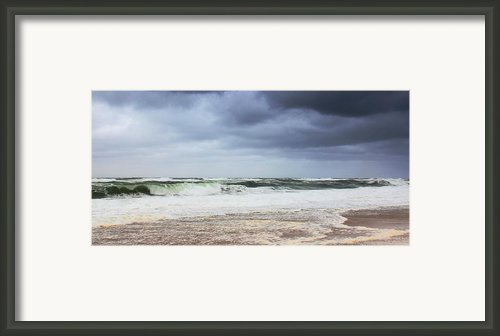 November Gale Framed Print By Roupen  Baker