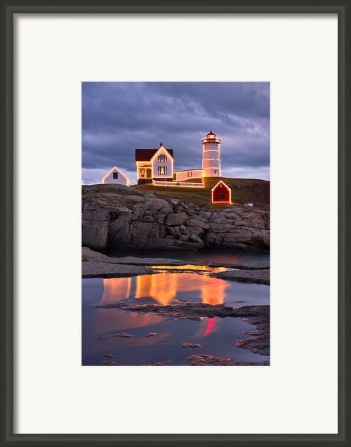 Nubble Framed Print By Benjamin Williamson
