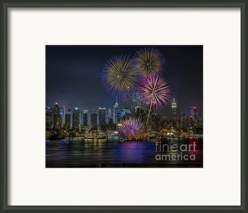 Nyc Celebrates Fleet Week Framed Print By Susan Candelario