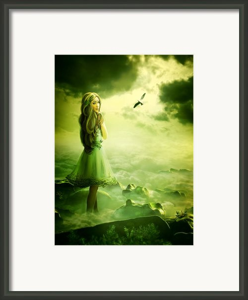 Nymph Framed Print By Svetlana Sewell