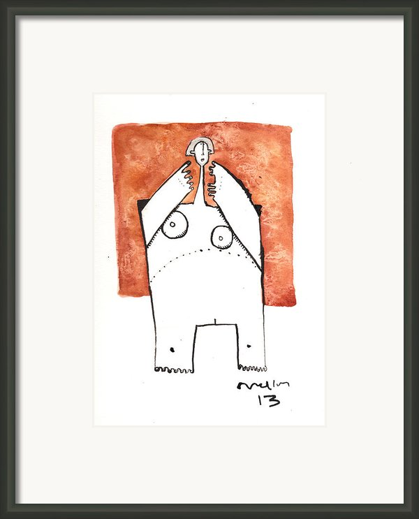 Oaths No.4 Framed Print By Mark M  Mellon