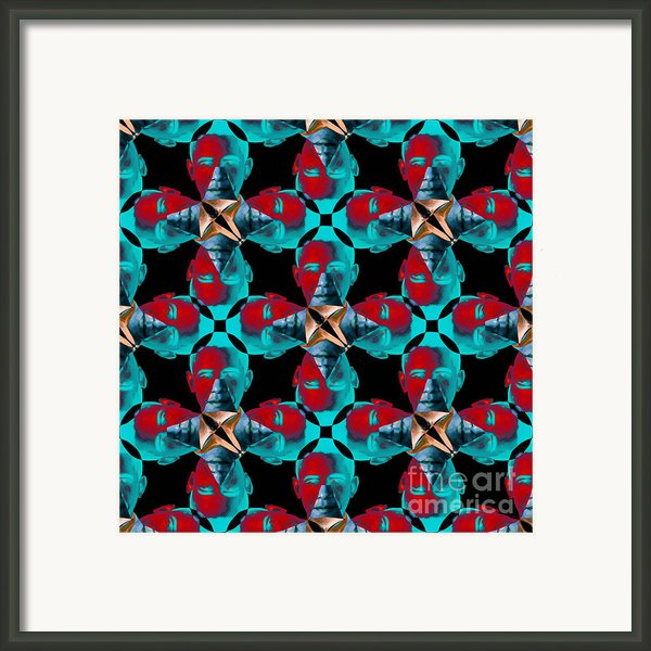 Obama Abstract 20130202m180 Framed Print By Wingsdomain Art And Photography
