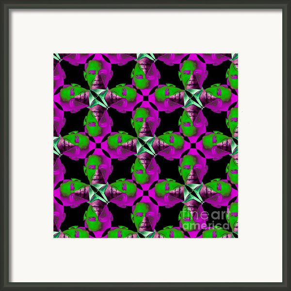 Obama Abstract 20130202m60 Framed Print By Wingsdomain Art And Photography