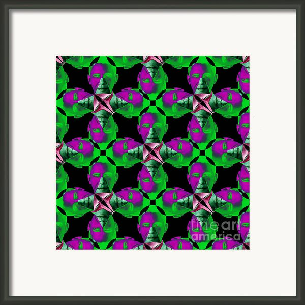 Obama Abstract 20130202p128 Framed Print By Wingsdomain Art And Photography