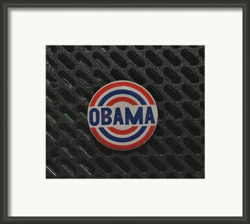 Obama Framed Print By Rob Hans