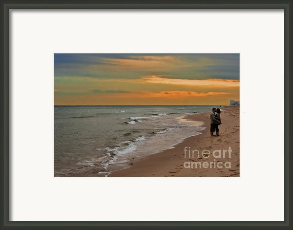 Oblivious Framed Print By Barbara Mcmahon