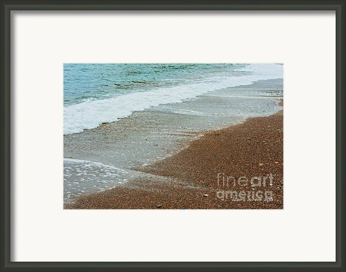 Ocean Wave Color Palette Framed Print By Author And Photographer Laura Wrede
