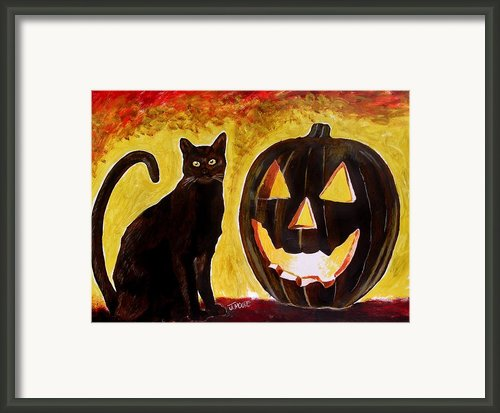 October Framed Print By Jeremy Moore