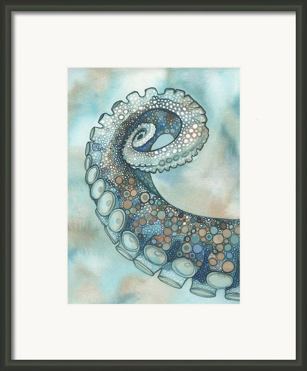 Octopus Tentacle Arm Framed Print By Tamara Phillips