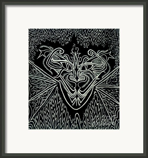Oddity Framed Print By Coriander  Shea