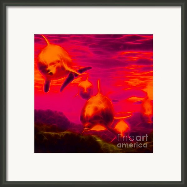 Odyssey V2 - Square Framed Print By Wingsdomain Art And Photography