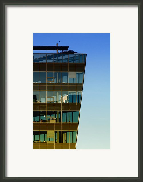 Office Framed Print By Kent Mathiesen