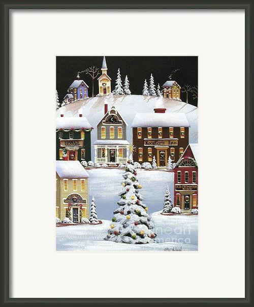 Oh Christmas Tree Framed Print By Catherine Holman