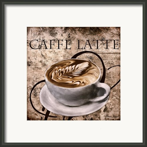 Oh My Latte Framed Print By Lourry Legarde