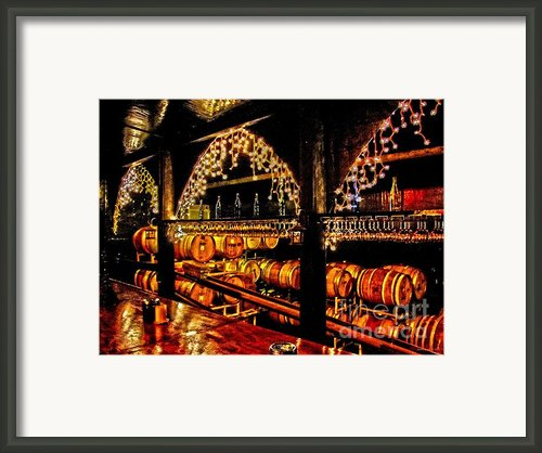 Oh Wine Framed Print By Annie Zeno