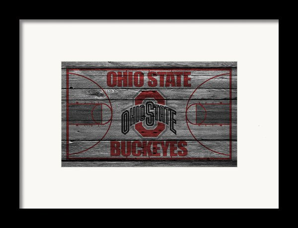 Ohio State Buckeyes Framed Print By Joe Hamilton