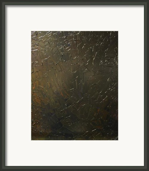 Oil In The Gulf Framed Print By Michael Kulick