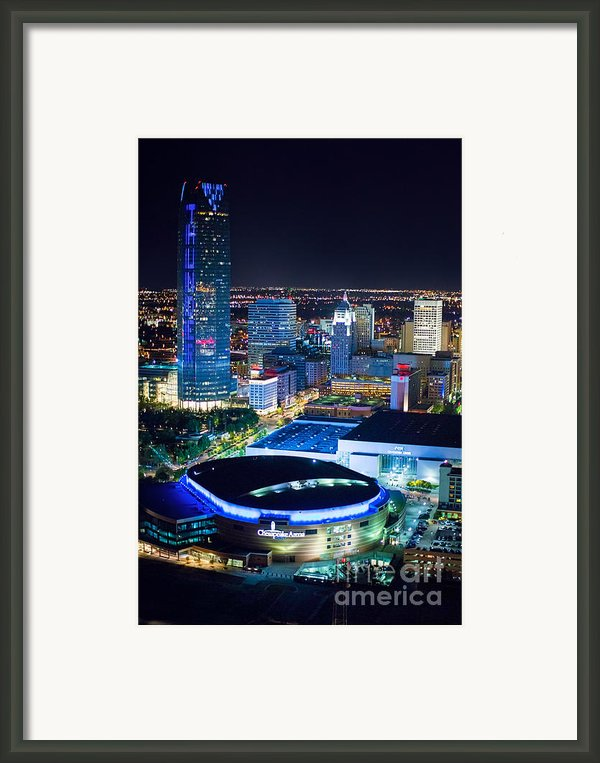 Okc0054 Framed Print By Cooper Ross