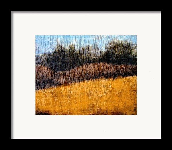 Oklahoma Prairie Landscape Framed Print By Ann Powell