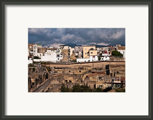 Old And New Framed Print By Marion Galt