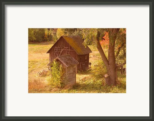 Old Blacksmiths Shop  Framed Print By Jeff  Swan