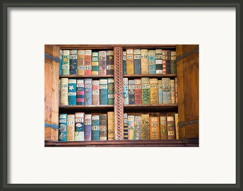 Old Books In Prague Framed Print By Matthias Hauser