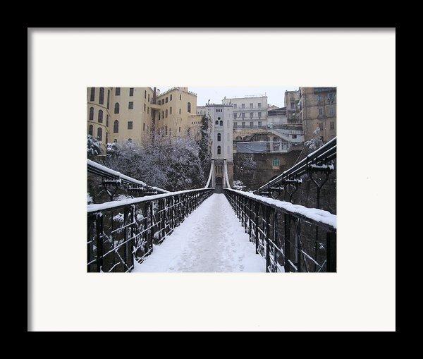Old Bridge Of Constantine Framed Print By Boultifat Abdelhak Badou